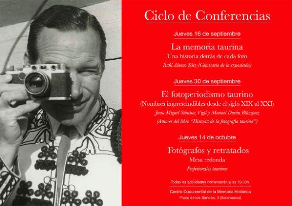Centro Documental de la Memoria Histórica CDMH Ciclo de Conferencias La memoria taurina Salamanca 2021