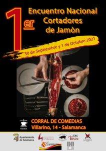 El Corral de Comedias I Encuentro Nacional de Cortadores de Jamón Salamanca Septiembre octubre 2021