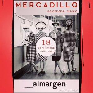Espacio Almargen Mercadillo de Segunda Mano Salamanca 18 de septiembre de 2021