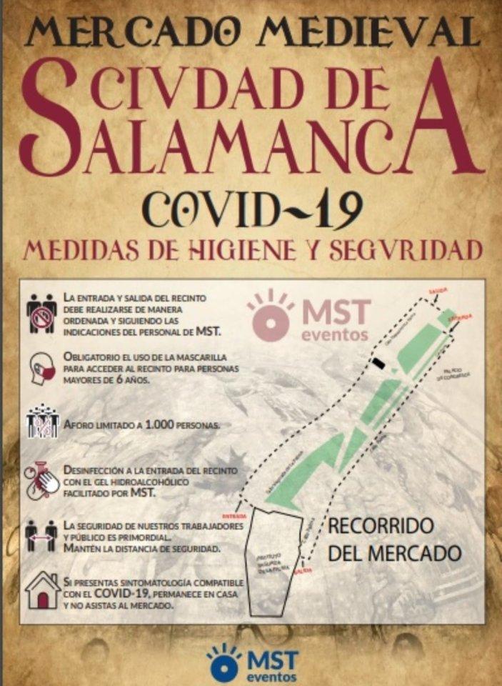 Ferias y Fiestas 2021 Mercado Medieval Ciudad de Salamanca Septiembre