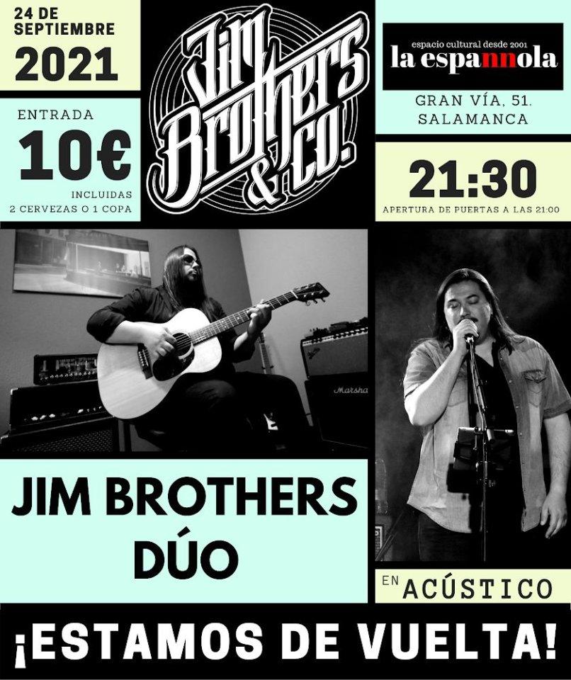 La Espannola Jim Brothers Dúo Salamanca Septiembre 2021