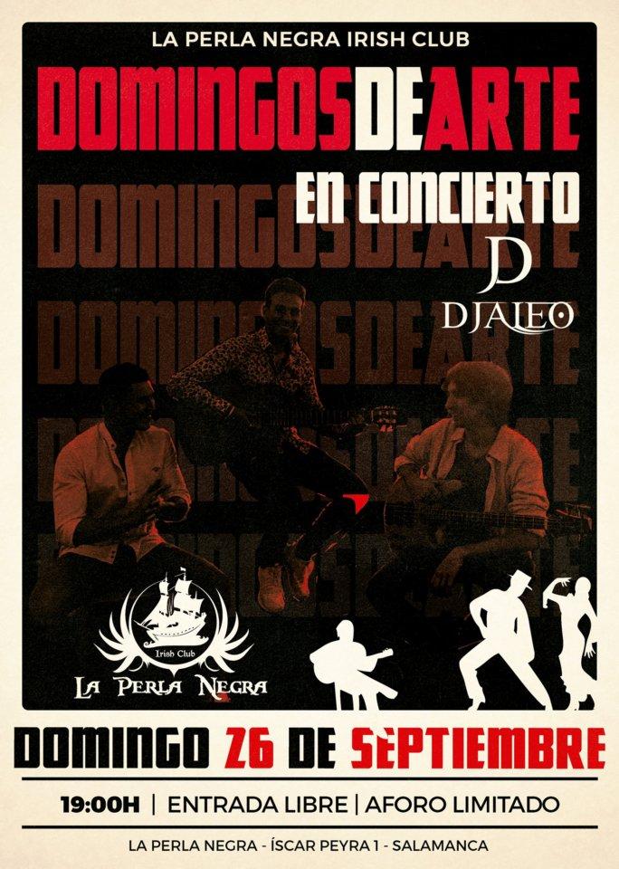 La Perla Negra DJaleo Salamanca Septiembre 2021