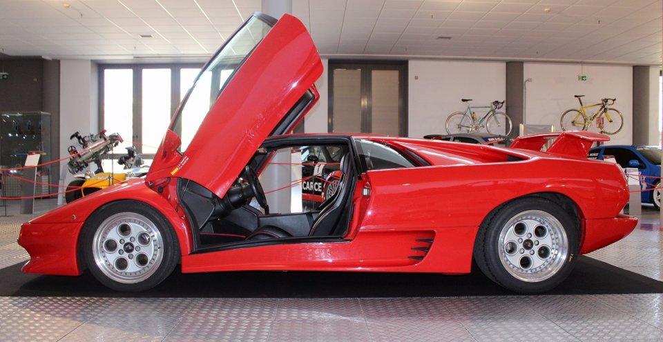 Museo de Historia de la Automoción de Salamanca MHAS Lamborghini Diablo Septiembre 2021