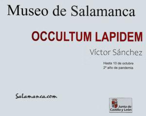 Museo de Salamanca Víctor Sánchez Septiembre octubre 2021