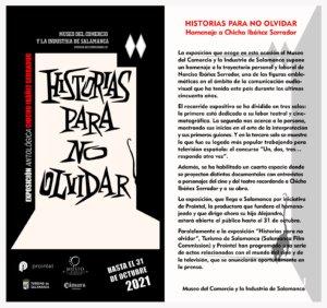 Museo del Comercio y de la Industria Historias para no olvidar Salamanca 2021