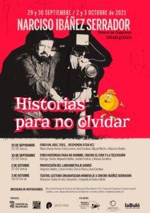 Palacio de Congresos y Exposiciones Narciso Ibáñez Serrador. Historias para no olvidar Salamanca Septiembre octubre 2021