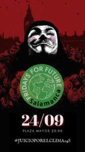 Plaza Mayor #JuicioPorElClima24S Salamanca Septiembre 2021