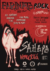 Plaza de San Román XXVI Festival Farinato Rock Salamanca Octubre 2021