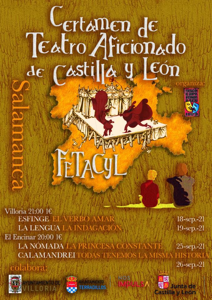 Salamanca Certamen de Teatro Aficionado de Castilla y León Septiembre 2021