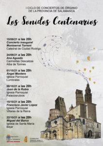 Salamanca I Ciclo de Conciertos de Órgano de la Provincia Septiembre octubre 2021