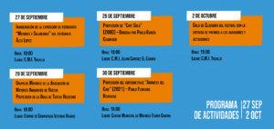 Salamanca VI Festival Internacional de Cortometrajes sobre Personas Mayores Septiembre octubre 2021
