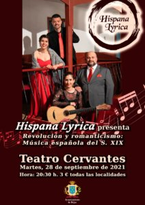 Teatro Cervantes Hispana Lyrica Béjar Septiembre 2021