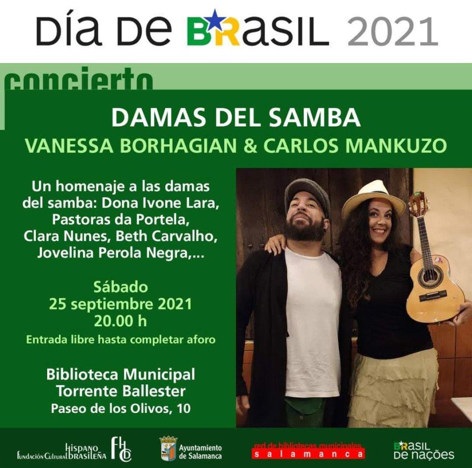 Torrente Ballester Damas del Samba Salamanca Septiembre 2021