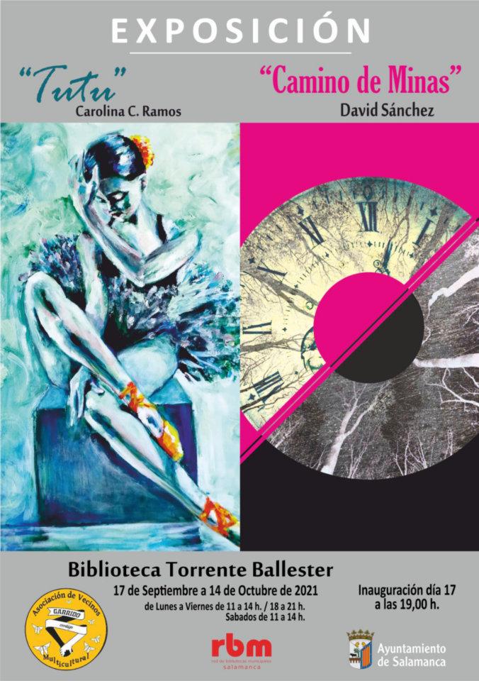 Torrente Ballester Tutú y Camino de minas Salamanca Septiembre octubre 2021