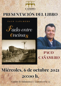 Casino de Salamanca Fado entre encinas Octubre 2021