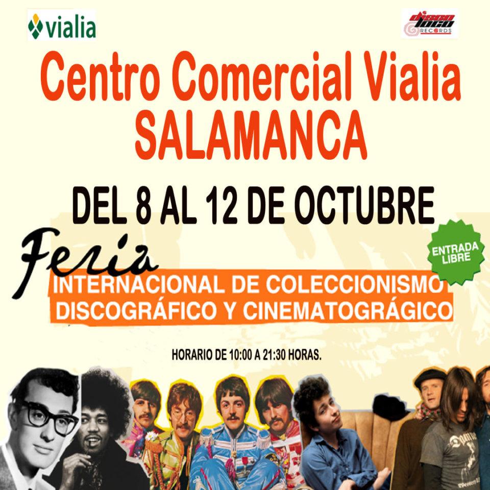 Centro Comercial Vialia Feria Internacional de Coleccionismo Discográfico y Cinematográfico Salamanca Octubre 2021