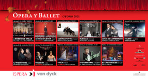 Cines Van Dyck Ópera y Ballet Salamanca Otoño 2021