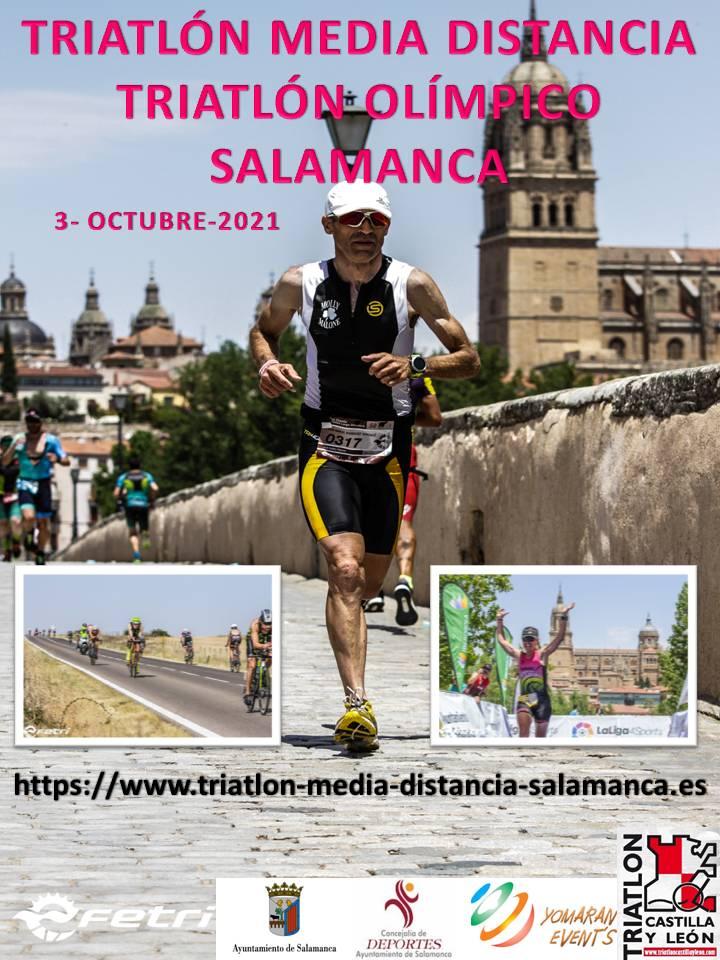 Embarcadero La Pachamama Triatlón de Media Distancia y Olímpico de Salamanca Octubre 2021