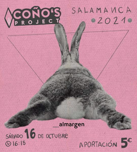 Espacio Almargen Festival Coño's Project Salamanca Octubre 2021