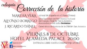 Hotel Alameda Palace Corrección de la historia Salamanca Octubre 2021