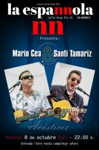 La Espannola Mario Cea & Santi Tamariz Salamanca Octubre 2021