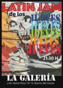La Galería Latin Jam de los Jueves Salamanca 2021-2022