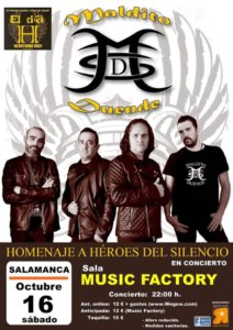 Music Factory Maldito Duende Salamanca Octubre 2021