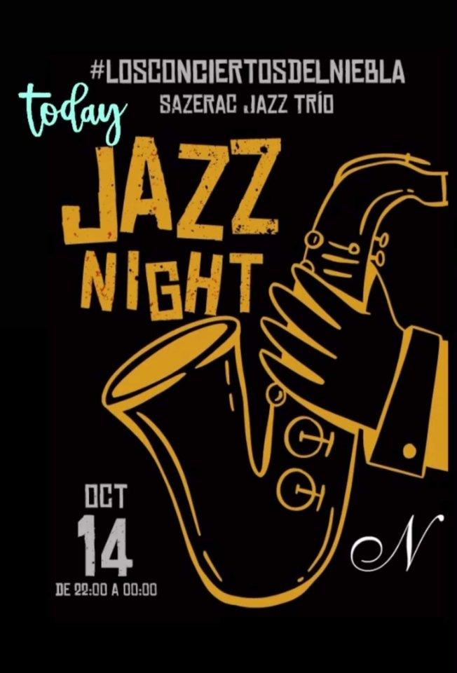 Niebla Sazerac Jazz Trío Salamanca Octubre 2021