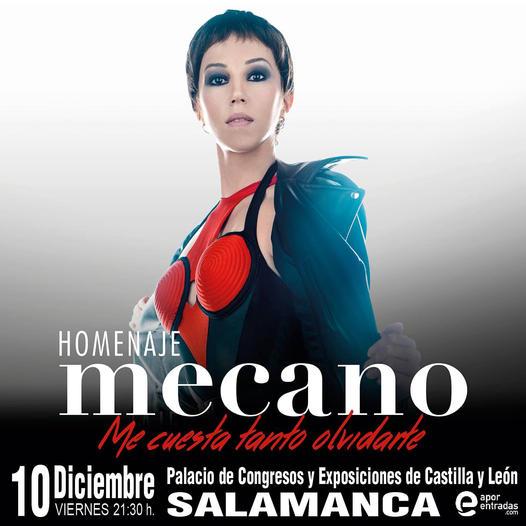 Palacio de Congresos y Exposiciones Me cuesta tanto olvidarte Salamanca Diciembre 2021