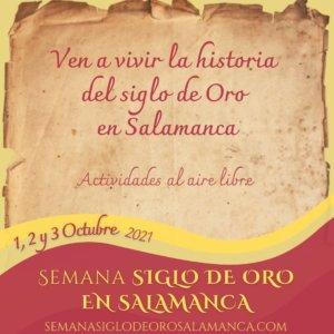 Salamanca Semana del Siglo de Oro Octubre 2021