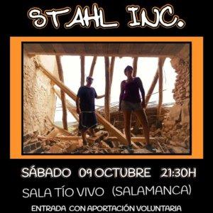Tío Vivo Stahl Inc Salamanca Octubre 2021