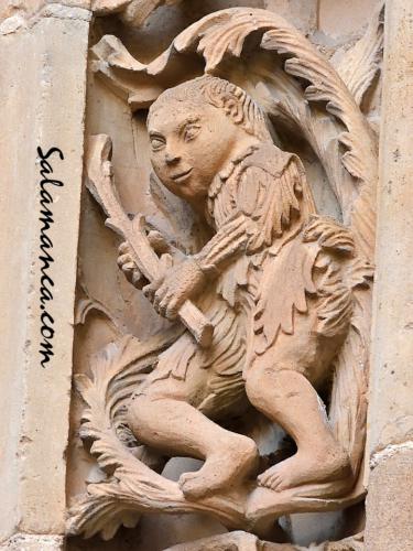 Bestiario de la Catedral Nueva de Salamanca