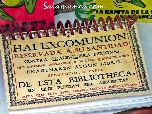 Cedula Hai excomunion Salamanca (I)