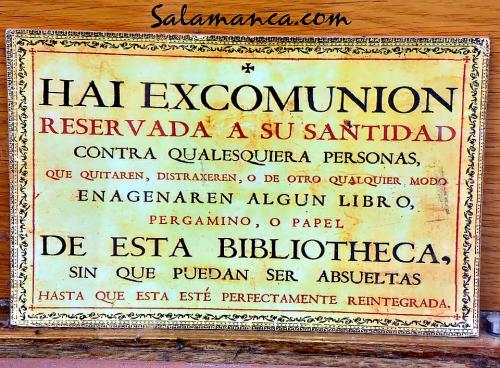 Cedula Hai excomunion Salamanca (V)