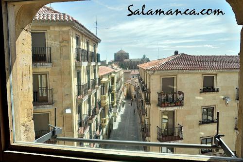 Salamanca, entre ventanas