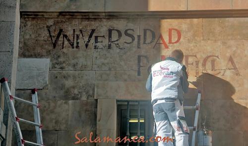 Salamanca, recalcando su historia