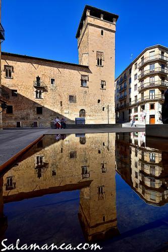 Salamanca en el reflejo de la Torre del Aire