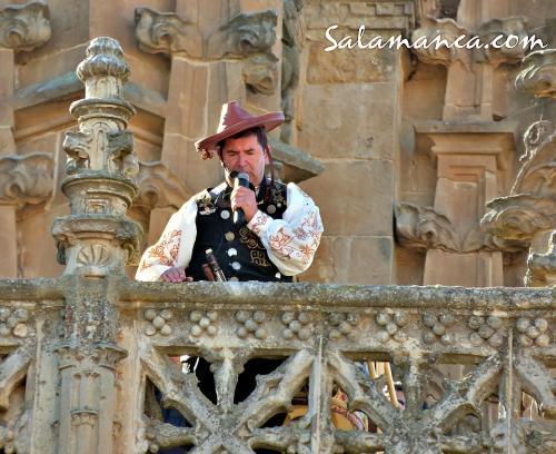 El Mariquelo volvió a ascender a la Catedral Nueva de Salamanca