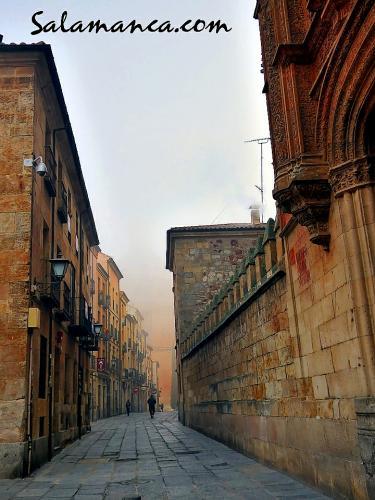Salamanca, de niebla y de invierno