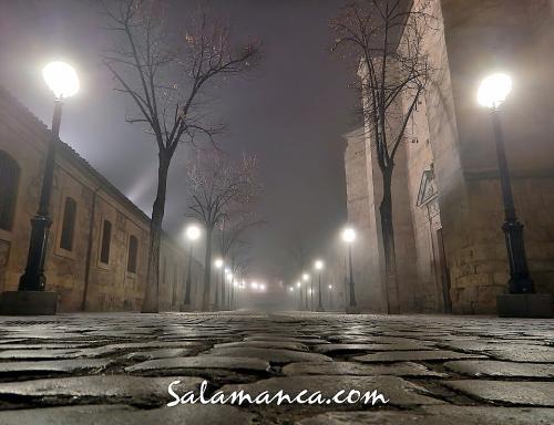 Salamanca en la niebla