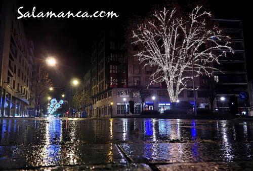 Salamanca, entre Ana y Navidad
