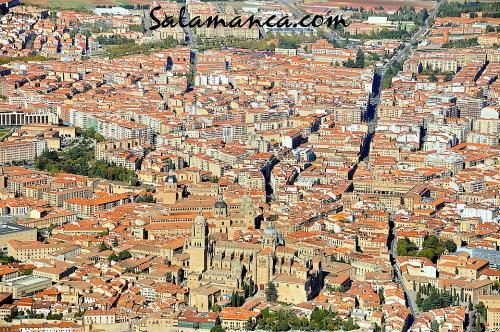 Salamanca por los aires