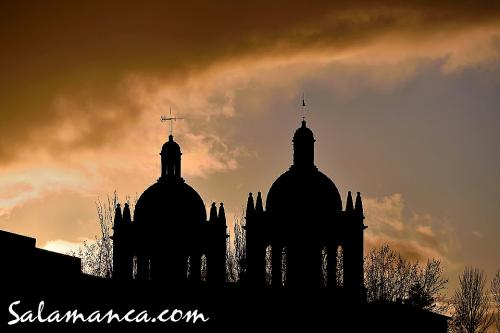 Salamanca, al caer la tarde