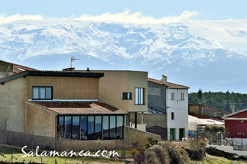 Nieve... Desde San Miguel de Valero