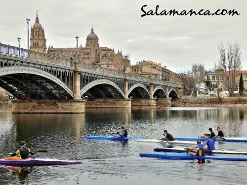 Salamanca y mañana de piraguas