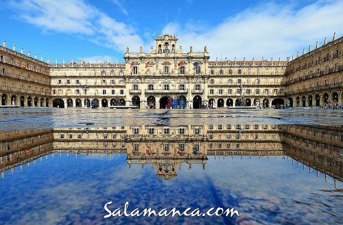 Salamanca, llueve ¿y qué?