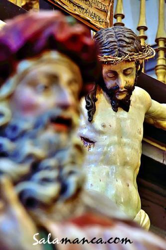 Viernes Santo, las imágenes de la Vera Cruz no salieron a la calle
