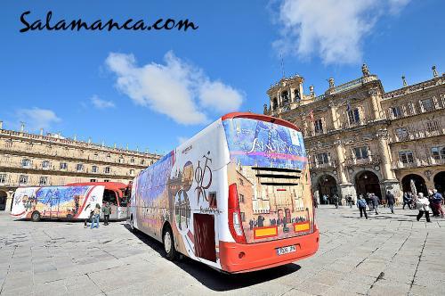 Salamanca sobre ruedas en al VIII Centenario de su Universidad