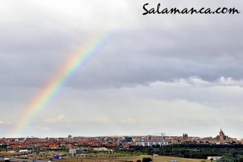 Salamanca, un arco protector