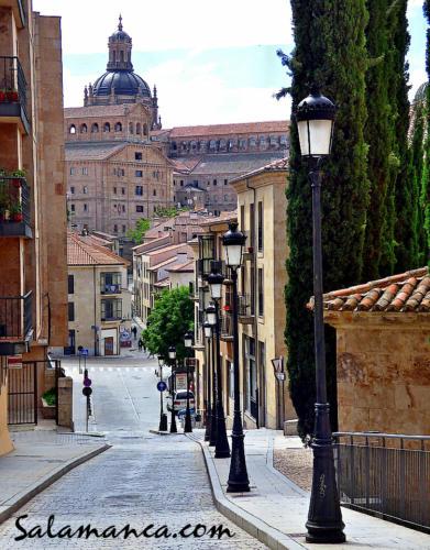 Y bajando por San Blas... Salamanca
